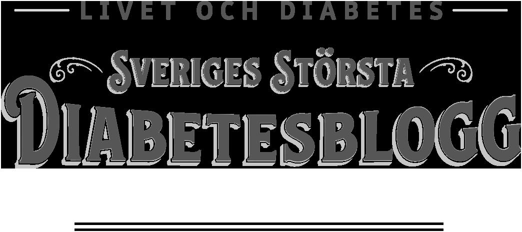Livet och diabetes –Sveriges största diabetesblogg
