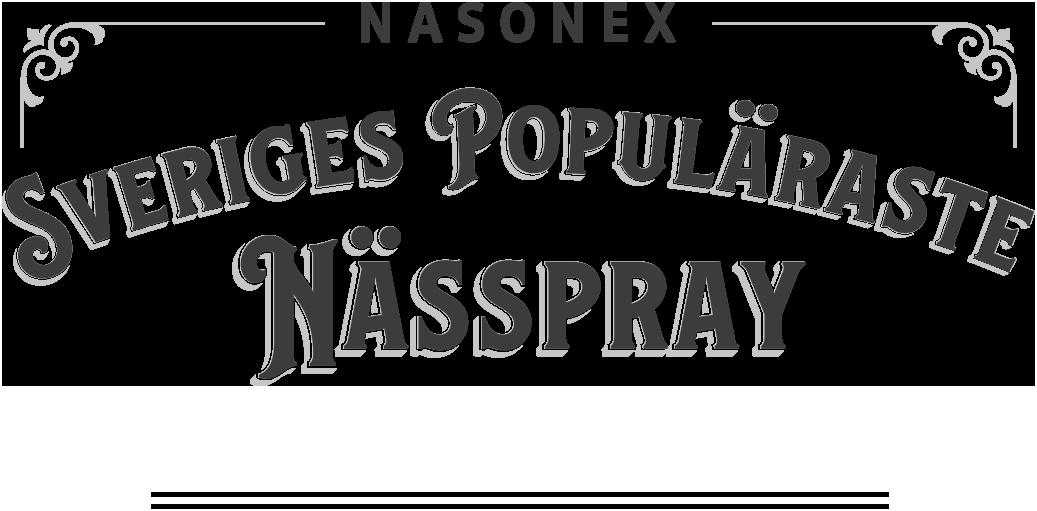 Nasonex –Sveriges populäraste nässpray